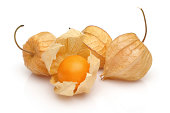 Physalis; object on a white background