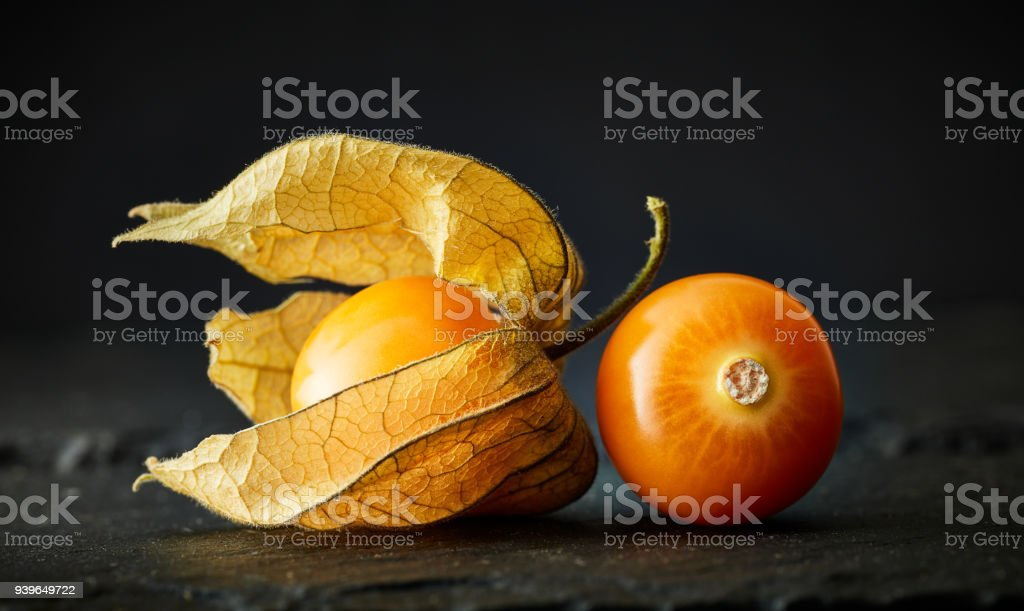 Physalis or Gooseberry stock photo