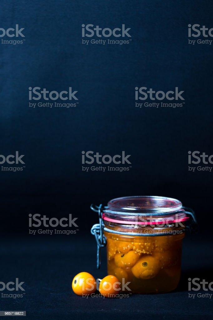 Physalis preserved - Стоковые фото Без людей роялти-фри