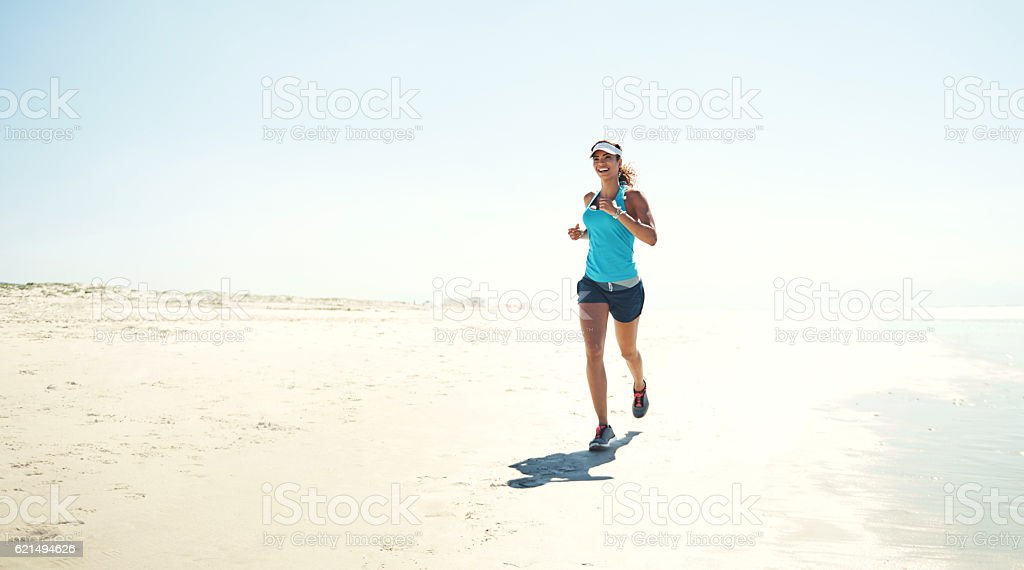 Physical activity promotes a better quality of life Lizenzfreies stock-foto