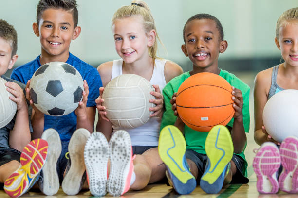 Physical Education - foto stock