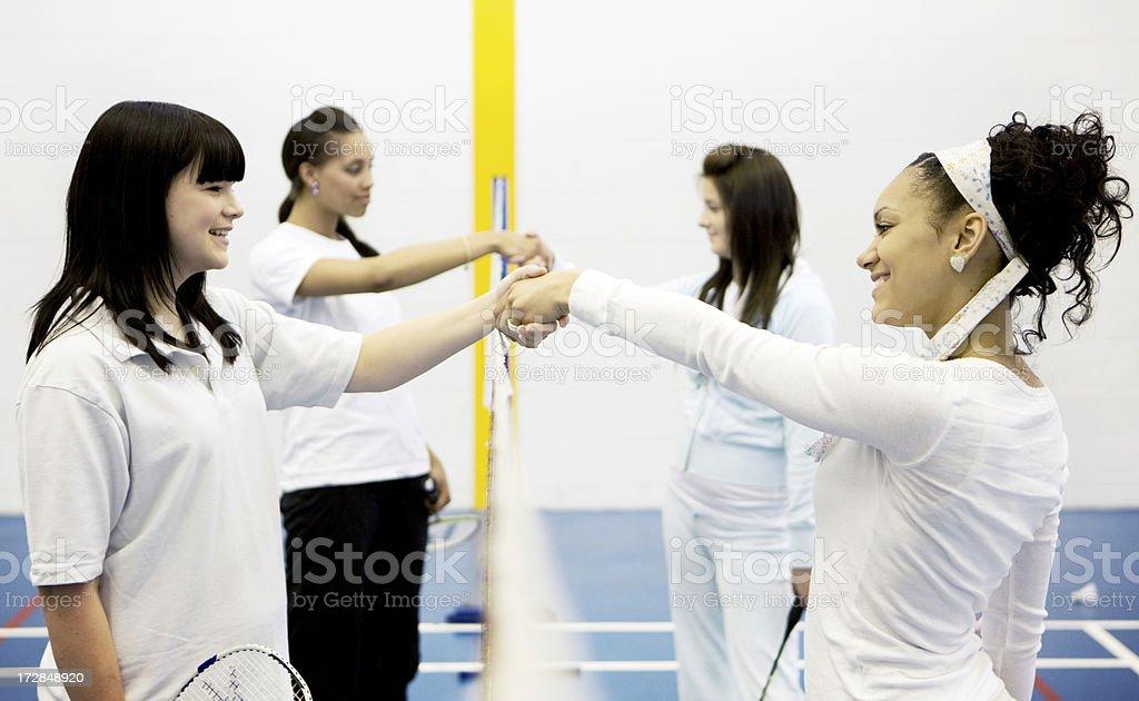 physical education: sportsmanship royalty-free stock photo