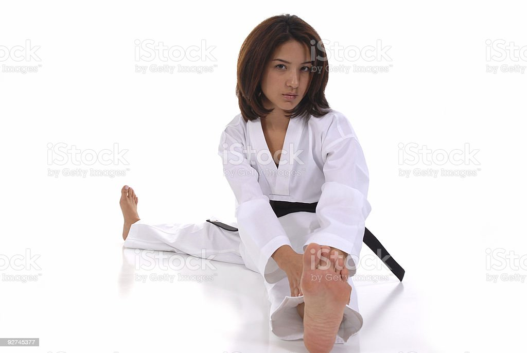 Physical fitness stock photo