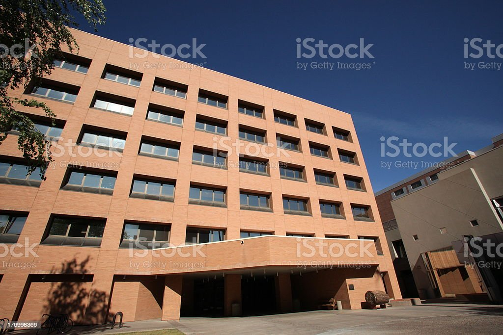 ASU Physical Science building stock photo