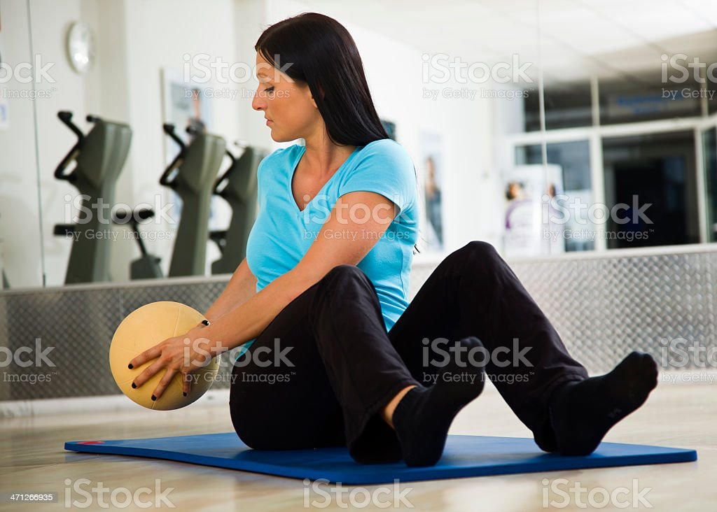 Physical Therapy for Lower Back royalty-free stock photo