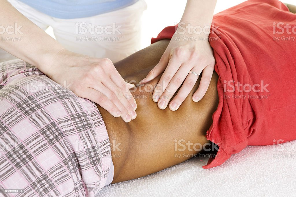 physical therapy royalty-free stock photo