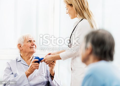 istock Physical Therapy. 483526857