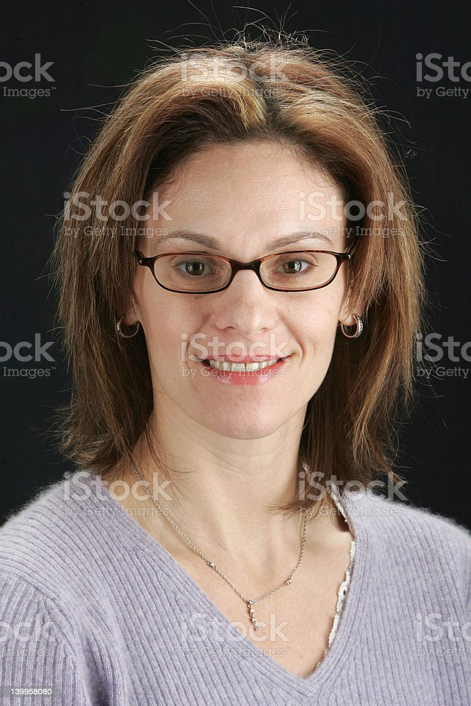 Physician's Headshot royalty-free stock photo