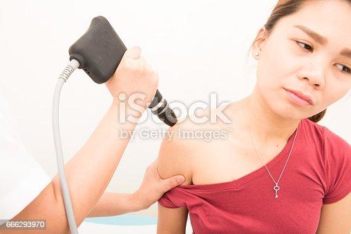 1092248526istockphoto physiotherapist treating female patient 666293970