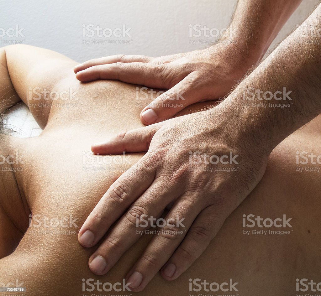 Physiotherapy 3 royalty-free stock photo