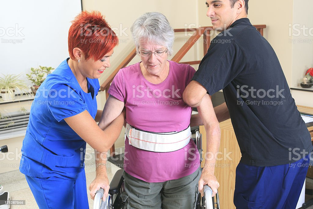Physiotherapy - Employees Support stock photo