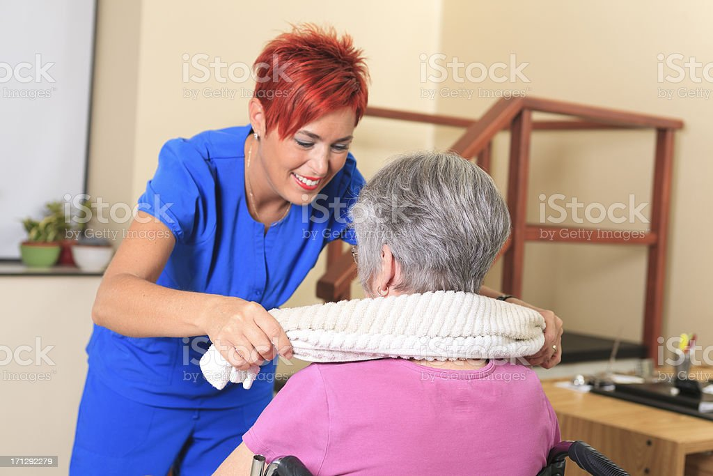 Physiotherapy - Great Work stock photo