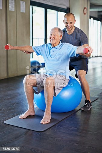 517995977 istock photo Physiotherapy isn't all that bad 518910769