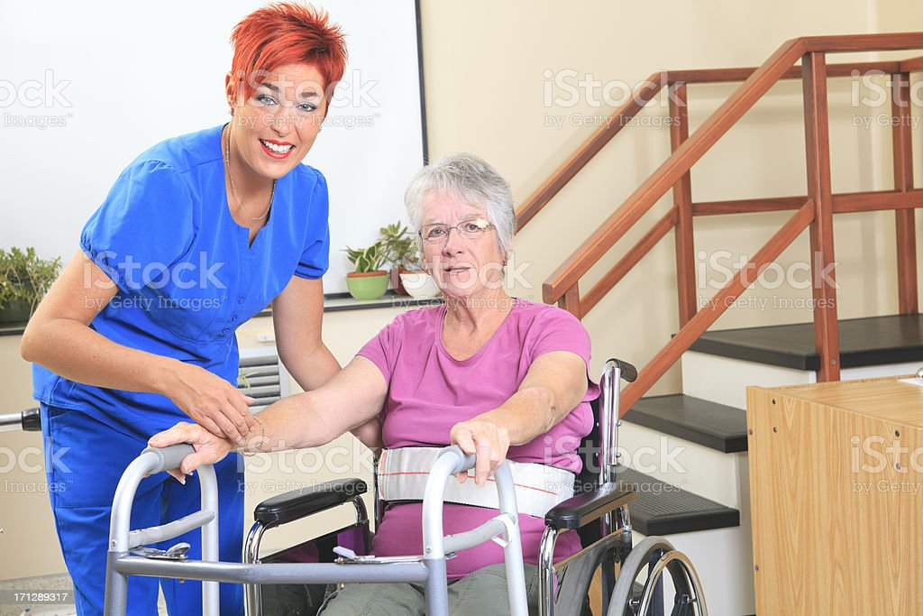 Physiotherapy - Job Support stock photo