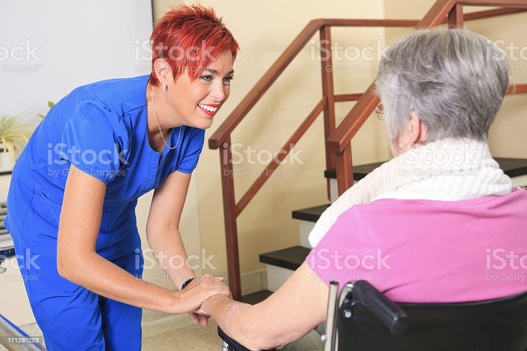 Physiotherapy - Over Hand stock photo