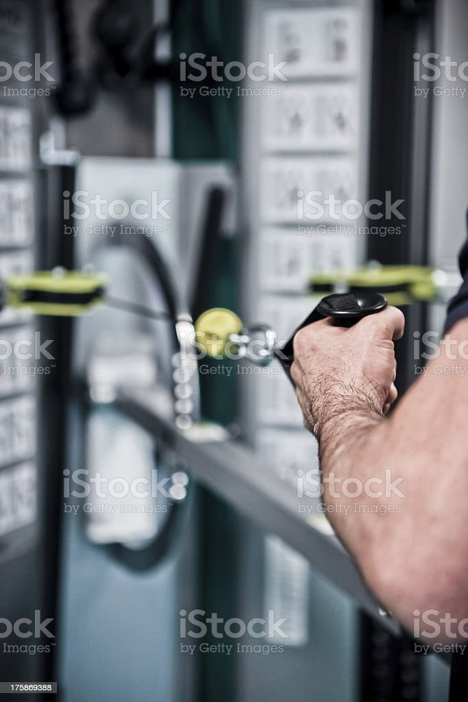 Physiotherapy royalty-free stock photo