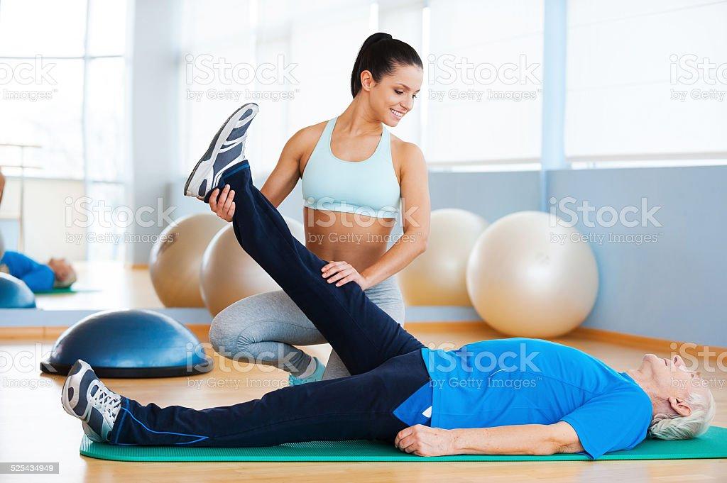 Physiotherapie. – Foto