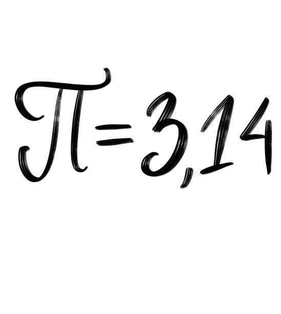 pi is a mathematical constant that expresses the ratio of the circumference of a circle to its diameter. - diameter stock pictures, royalty-free photos & images