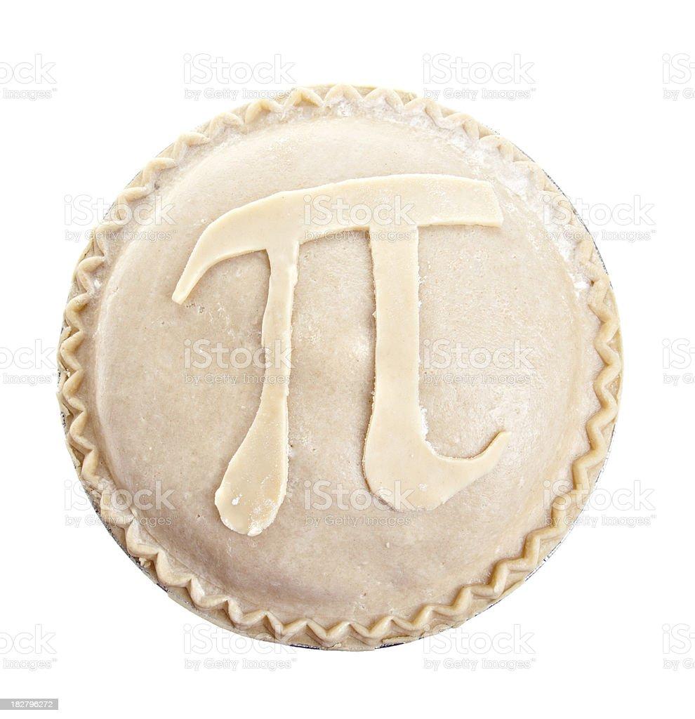 Pi On My Pie stock photo