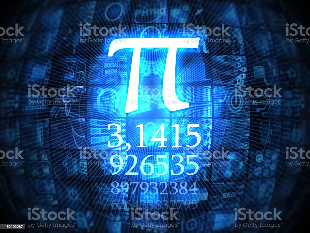 Pi stock photo