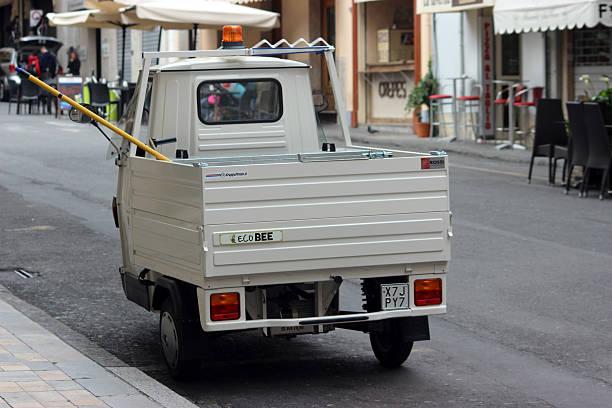 Piaggio SCIMMIA 50 Van - foto stock