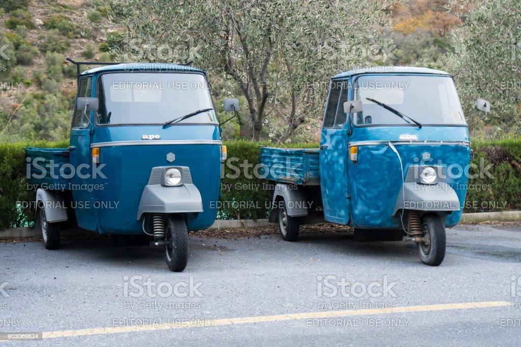 Piaggio Ape car - foto stock