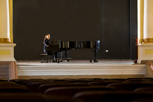 Pianist in Stage