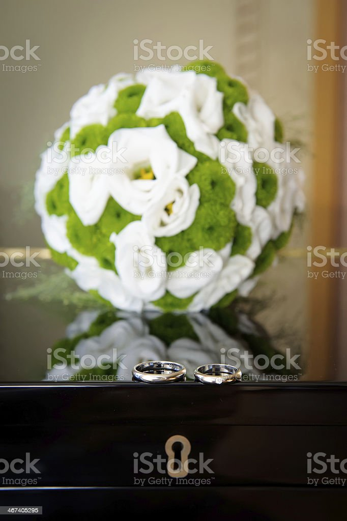 Pianists wedding story stock photo