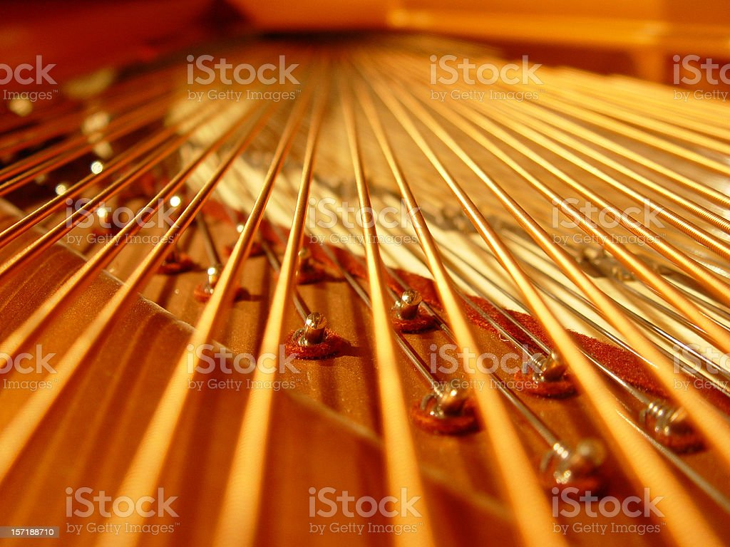 piano 15 royalty-free stock photo