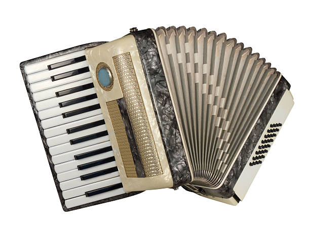 Piano accordion stock photo