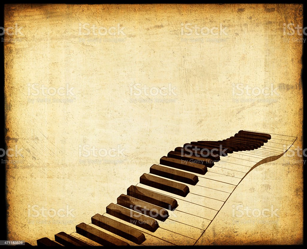 Piano Background royalty-free stock photo