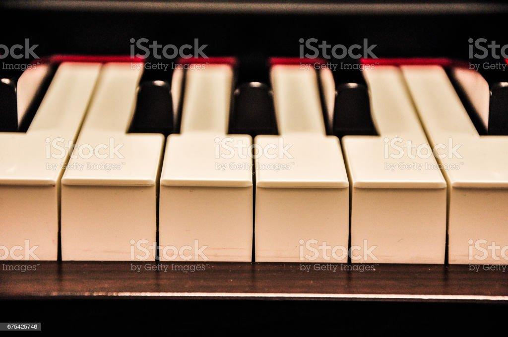 Piano Class royalty-free stock photo