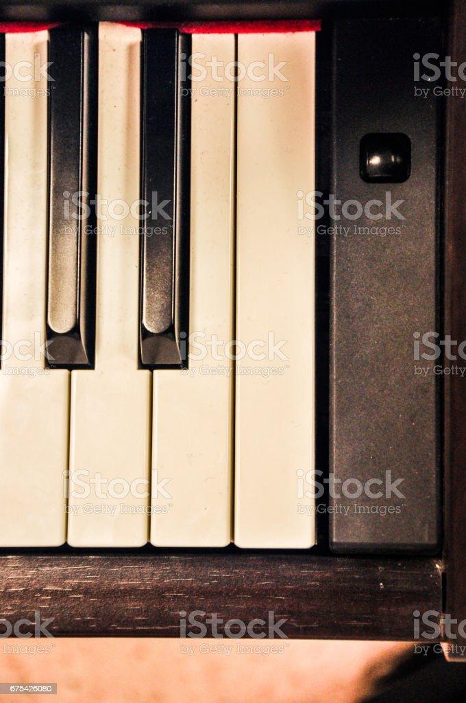 Piano Class photo libre de droits