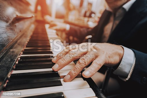 Piano. Happy Holidays. Happy Together. Good Relationship. Elderly Man. Plays the Piano. Nursing Home. Elderly woman. Young people. Doctor. Cute Relationship. Celebration. Smiling People.