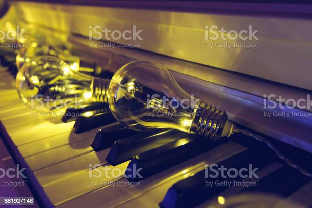 Piano in different light