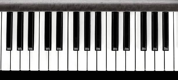 Touches de Piano, gros plan - Photo