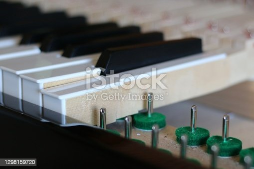 Piano regulation keyboard