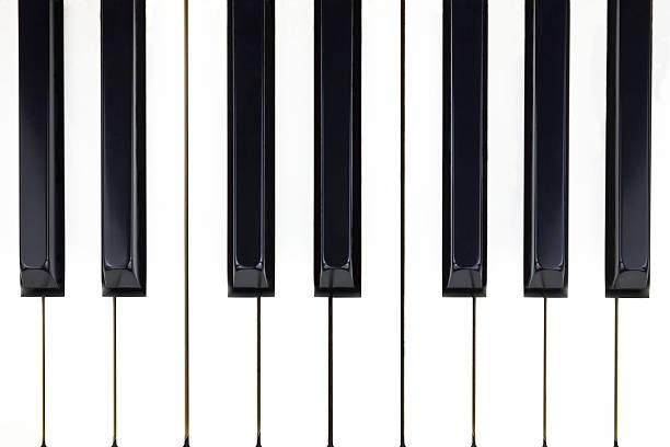 Teclas del Piano  - foto de stock