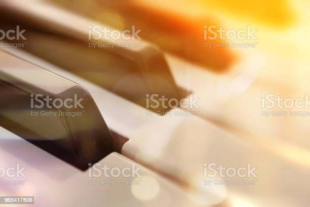 Foto de Conceito De Música De Piano e mais fotos de stock de Abstrato