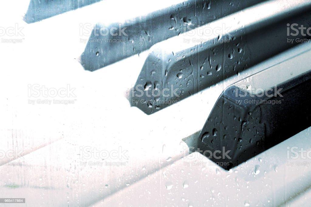鋼琴音樂概念 - 免版稅古典音樂圖庫照片