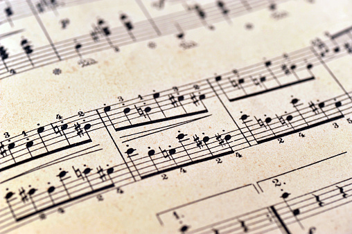 piano notes sheet music - Klaviernoten