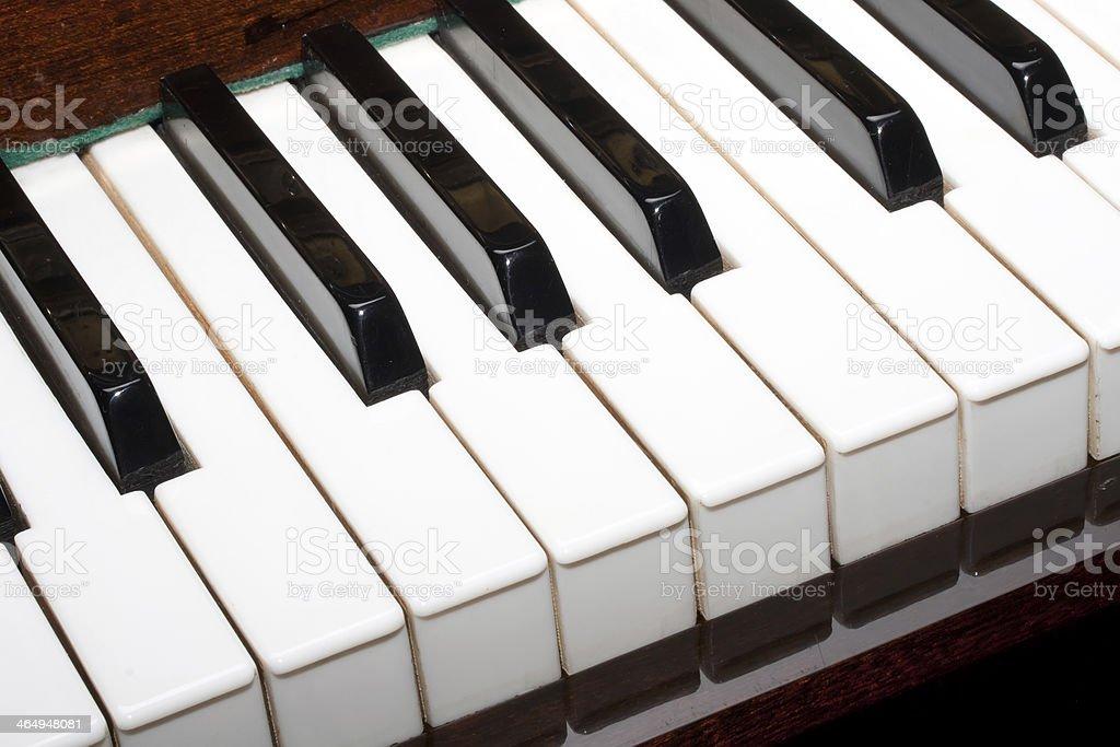 Piano stock photo