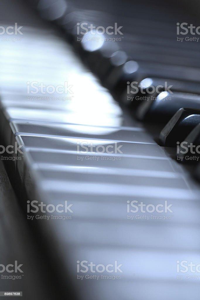 De piano foto de stock libre de derechos