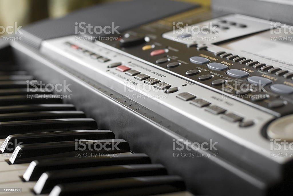 Piano. royalty-free stock photo