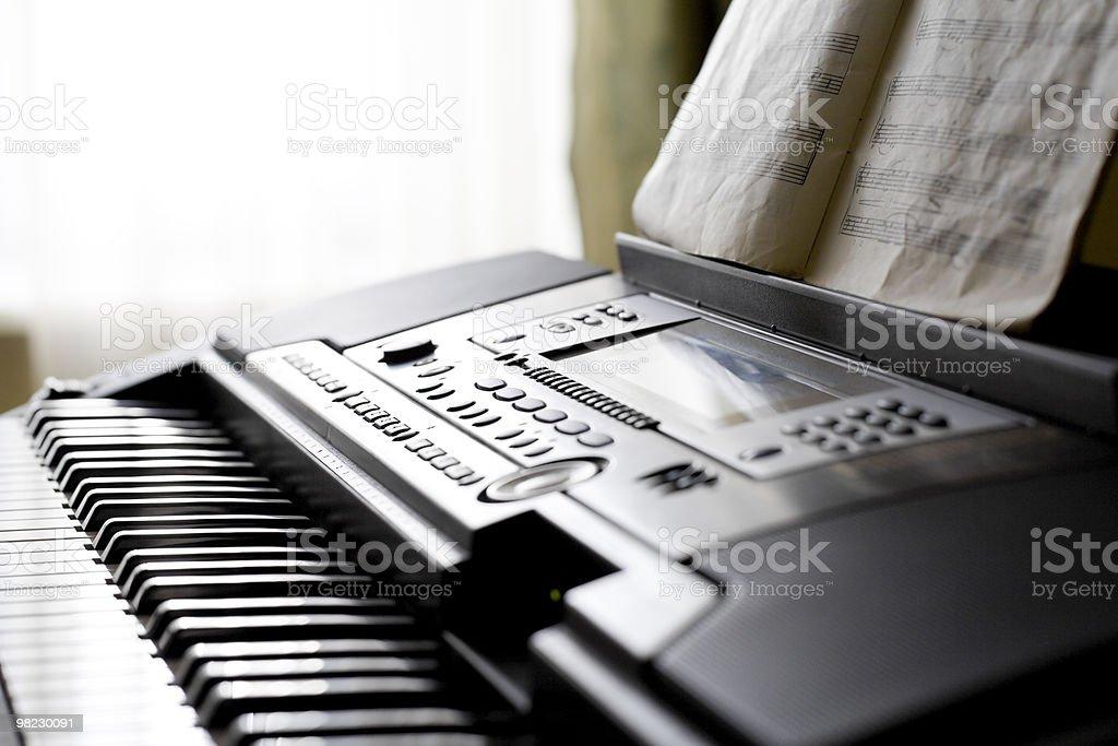 Piano. foto stock royalty-free