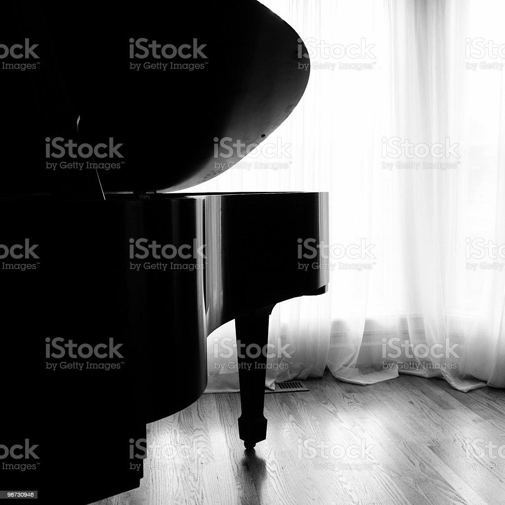 Piano de foto royalty-free