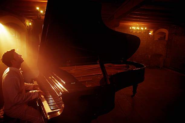 Piano Player Piano Player pianist stock pictures, royalty-free photos & images