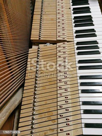 tuning and repairing the piano