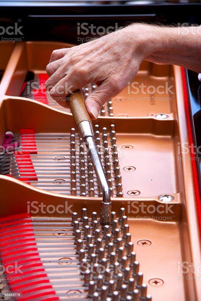 Piano einstellen Lizenzfreies stock-foto