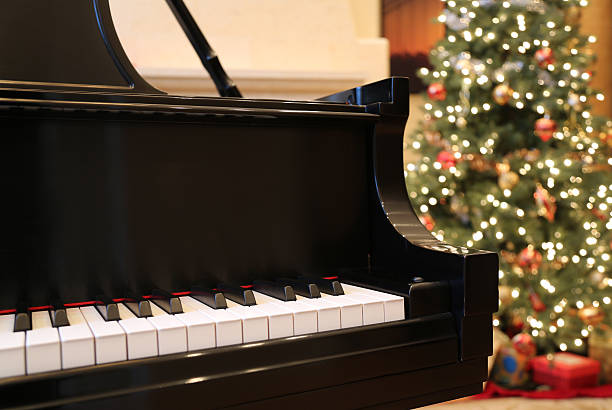 Christmas Piano.Best Christmas Piano Stock Photos Pictures Royalty Free
